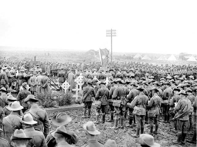 Australian 1st Division at Pozieres