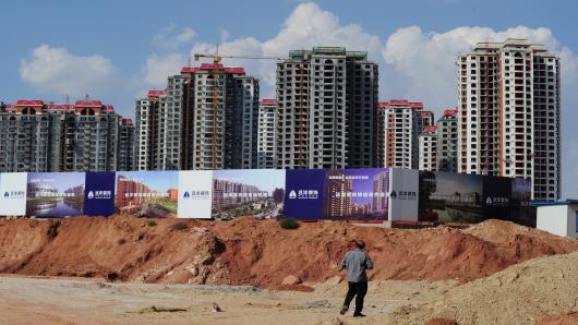 China Highrise Empty