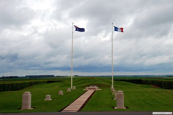 Pozieres Windmill Memorial Site current