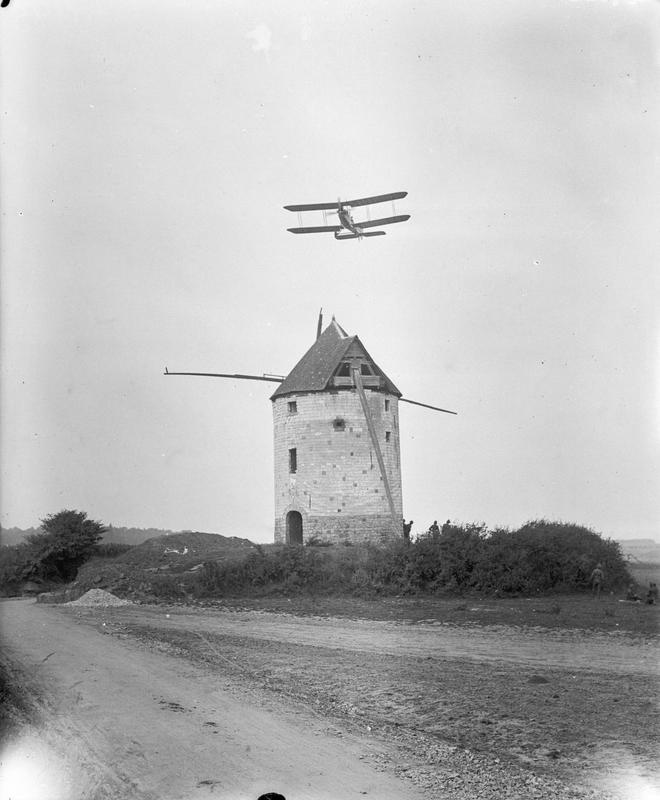Pozieres Windmill before the Battle