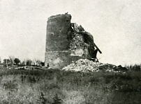 Pozieres Windmill destroyed by artillery