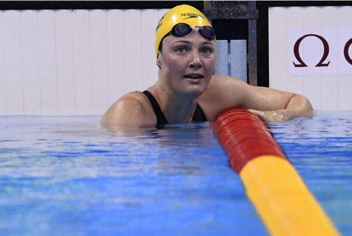 Cate Campbell in 100m Freestyle