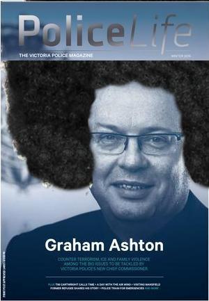Commissioner Graham Ashton apologist for Apex