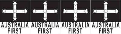 Eureka Flag logo of Australia First Party