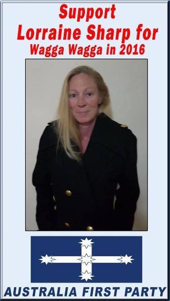 Lorraine Sharp for Wagga Wagga Council