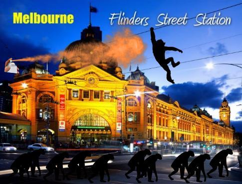 Melbourne postcard trending