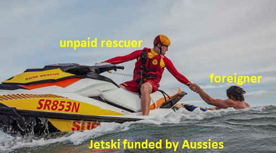 Surf Life Saving has become Foreign Aid